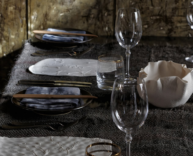The table setting at The Test Kitchen. Photo courtesy of the restaurant.