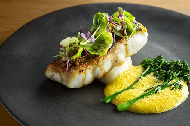The cuisine at Tokara Restaurant. Photo courtesy of the restaurant.