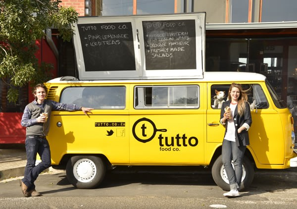 The Tutto Co. food truck. Photo supplied.