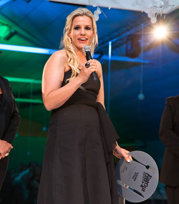 Vanessa Marx was the winner of the 2013 Eat Out Nederburg Rising Star Award. Photo by Shavan Rahim.