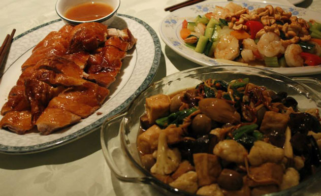 A selection of dishes at Wing Hin. Photo courtesy of the restaurant.