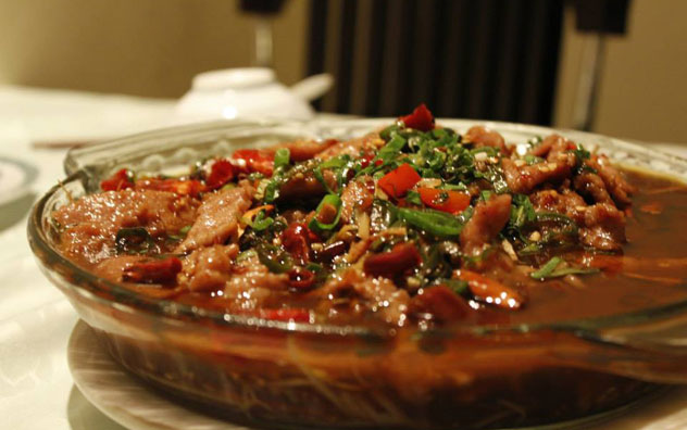 Beef with chilli sauce. Photo courtesy of the restaurant.