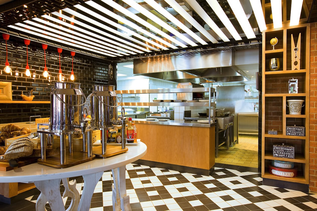 A view of the kitchen at the Zepi Grill & Bar. Photo courtesy of the restaurant.