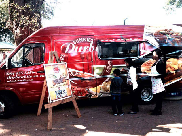 The DurbanBite food truck. Photo courtesy of the food truck.