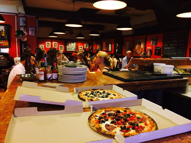 A pizza at Franco's Pizzeria and Trattoria. Photo courtesy of the restaurant.