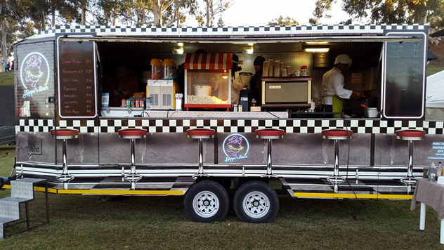 Hippo's Diner Food Truck. Photo courtesy of the food truck.