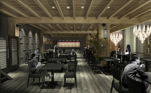 The Design For Interior Of New Kitima Restaurant In Cape Town Photo Courtesy