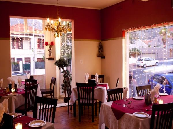 The interior at Maharajah South Indian Restaurant. Photo supplied.