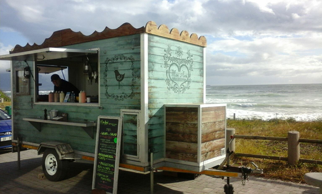 The Mon Ami Food Truck. Photo courtesy of the food truck.