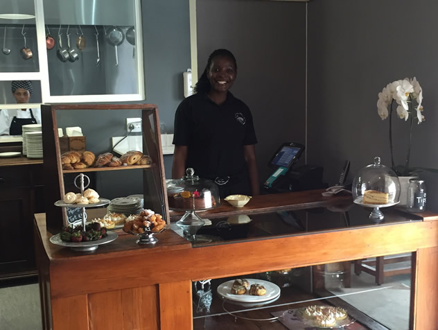 The dessert counter at Savages in Port Elizabeth. Photo courtesy of the restaurant.