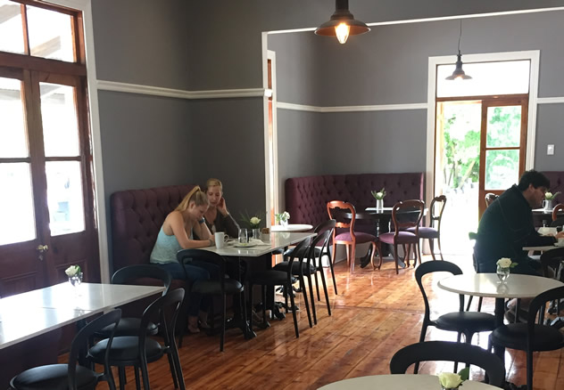 The interior at Savages in Port Elizabeth. Photo courtesy of the restaurant.
