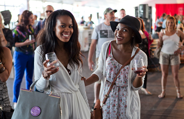 Wine enthusiasts enjoying the Inner City Wine Route. Photo courtesy of the event organisers.