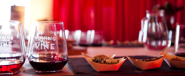 Food and wine pairing at the Inner City Wine Route. Photo courtesy of the event organisers.