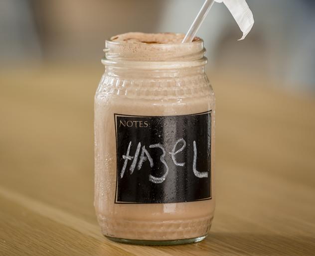 A milkshake at the Boiler Room Café. Photo courtesy of the restaurant.