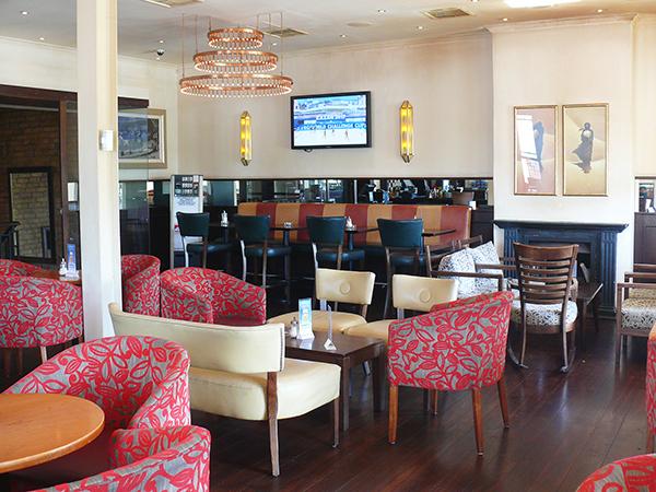 Enjoy happy hour specials at Café Extrablatt.