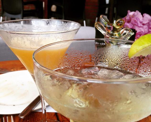 Cocktails at Con Brio Bistro. Photo courtesy of the restaurant.