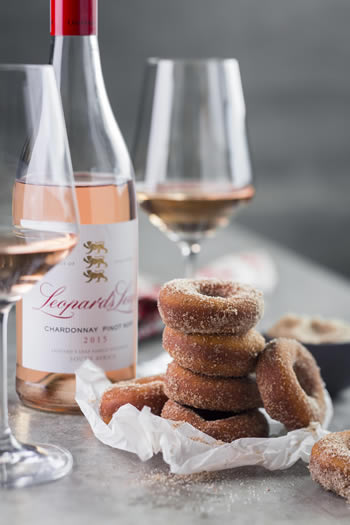 Leopard's Leap in Franschoek to to offer doughnut and wine pairing.