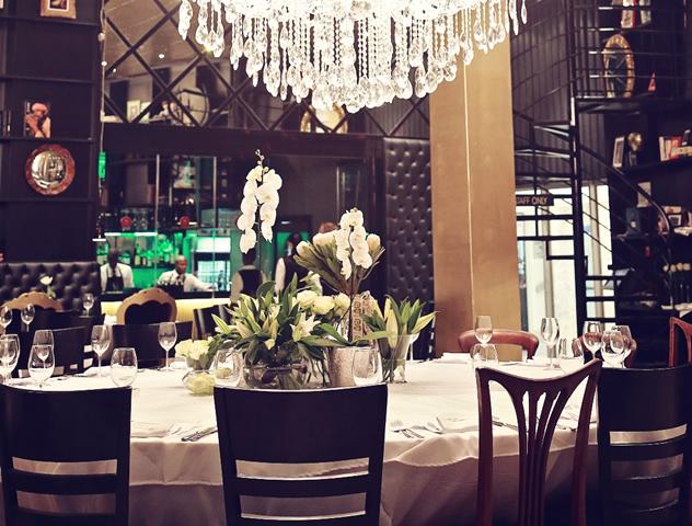 The interior at Harvey's Restaurant. Photo courtesy of the restaurant.