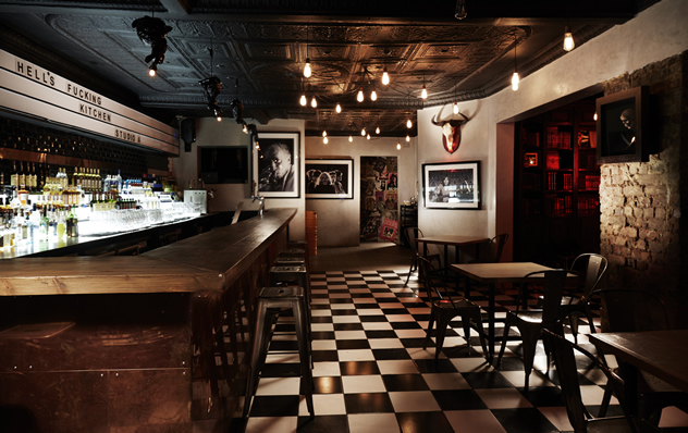 The bar at Hell's Kitchen. Photo courtesy of the restaurant.