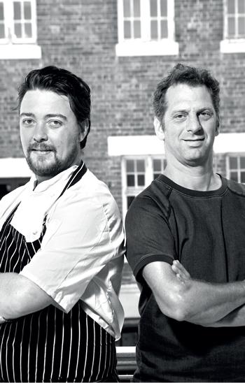 Ivor Jones and Luke Dale-Roberts