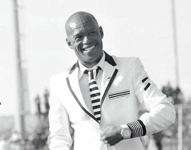 Bafana Bafana soccer star Jabu Mahlangu.