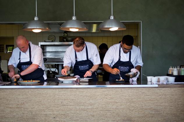 The chefs at Jordan Restaurant. Photo courtesy of the restaurant.