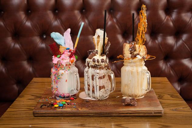 Insane milkshakes at Craft in Parkhurst. Photo courtesy of the restaurant.