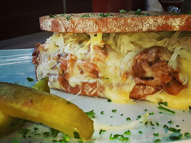 A sandwich at The Smokehouse and Grill. Photo courtesy of the restaurant.