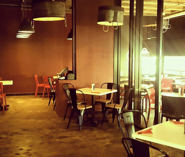 The interior at The Smokehouse and Grill. Photo courtesy of the restaurant.