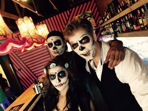 Staff behind the bar at El Toro. Photo courtesy of CK Designs.