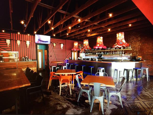 The interior at El Toro. Photo courtesy of CK Designs.