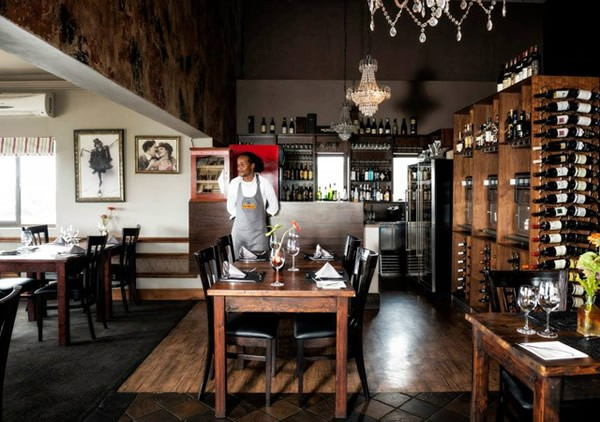 The interior at De Kloof Restaurant. Photo supplied.