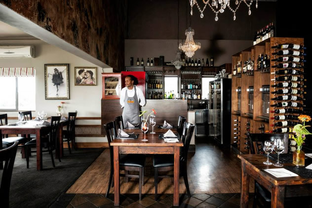 The interior at De Kloof Restaurant. Photo courtesy of the restaurant.