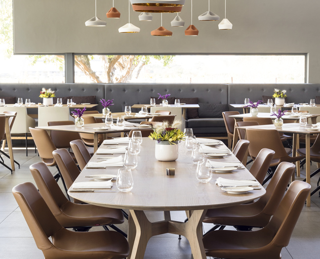 The dining area at Equus Dine at Cavalli. Photo courtesy of the restaurant.