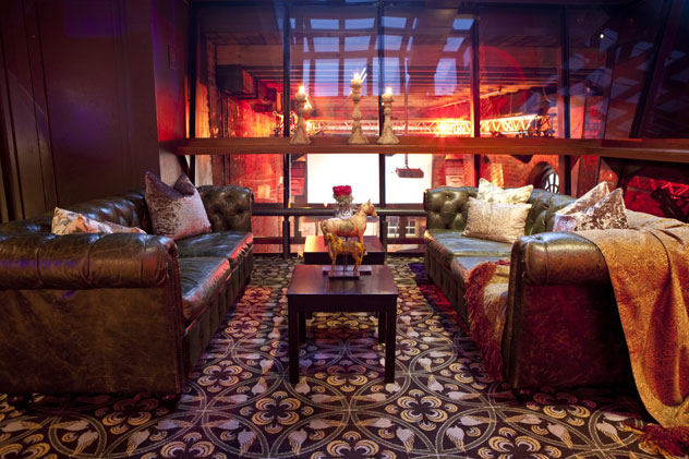 The interior at Gold Restaurant. Photo courtesy of restaurant.