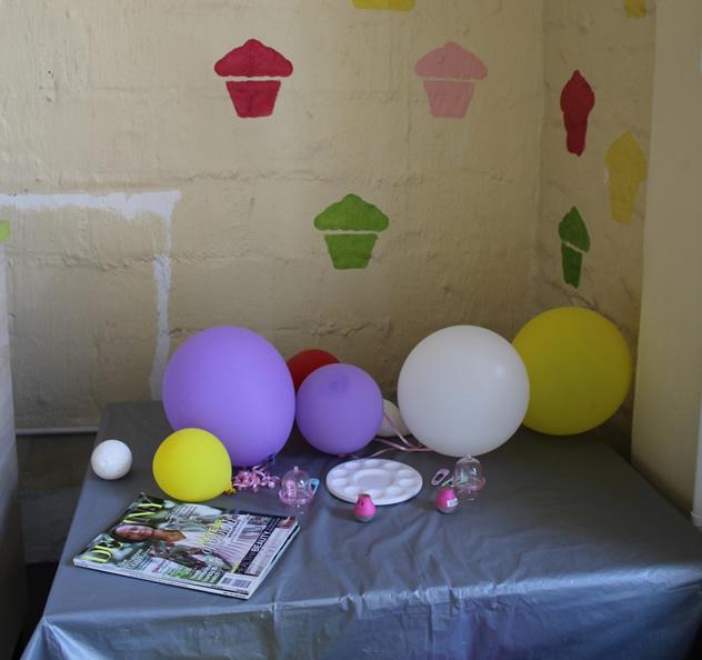 The kiddies play area at Heart Cupcakes in Maboneng. Photo courtesy of Mokgadi Itsweng.