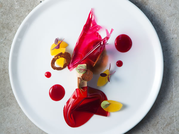 The number 6 restaurant in SA: The Restaurant at Waterkloof