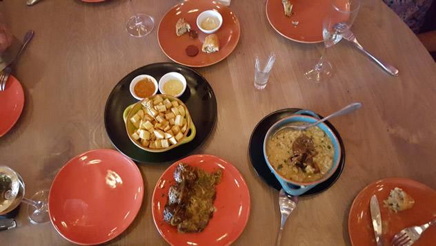 The food at Pintxada. Photo courtesy of the restaurant.