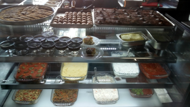 Sweet treats at Turkish Restaurant. Photo courtesy of the restaurant.