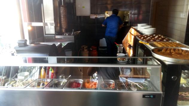 The kichen at Turkish Restaurant. Photo courtesy of the restaurant.