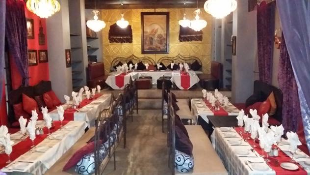The interior at A la Turka. Photo courtesy of the restaurant.