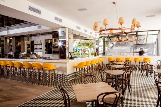 The interior at Pintxada. Photo courtesy of the  restaurant.