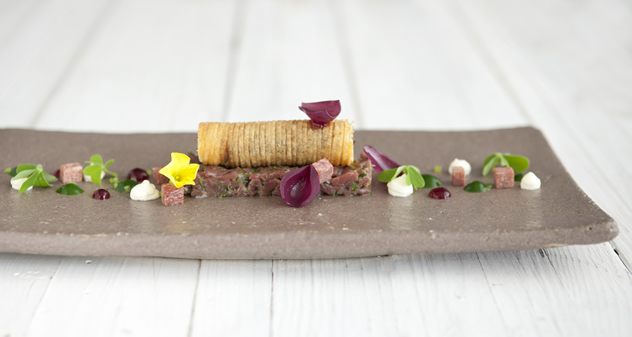 Another fantastic creation by head chef Peter Templehof at Greenhouse. Photo courtesy of the restaurant.