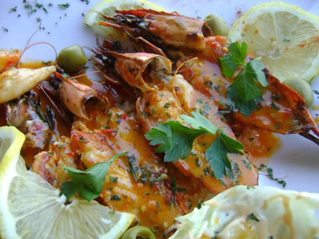 A seafood dish at Mo-Zam-Bik. Photo courtesy of the restaurant.