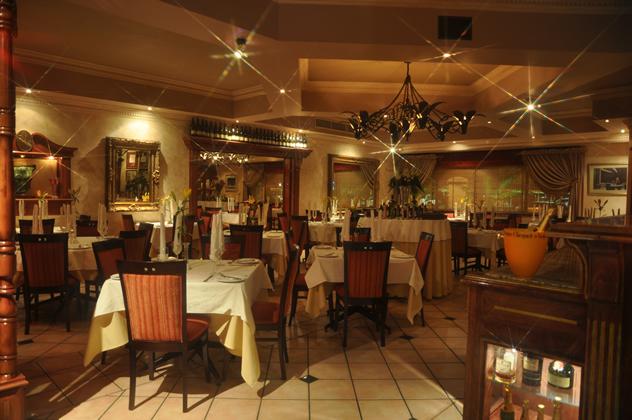 Inside at Villa San Giovanni Ristorante. Photo courtesy of the restaurant.