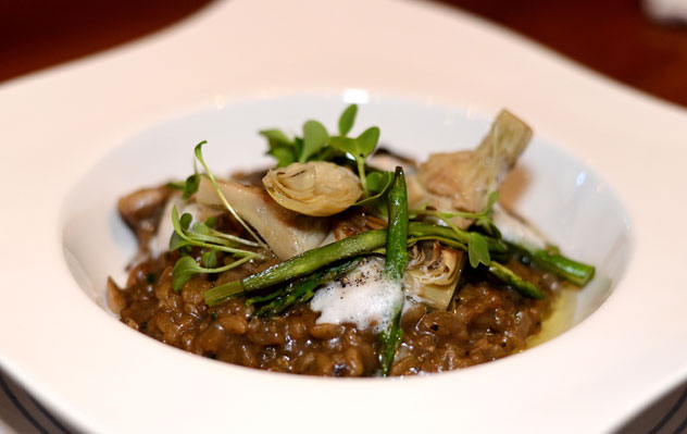 De Grendel's wild mushroom risotto. Photo courtesy of the restaurant.