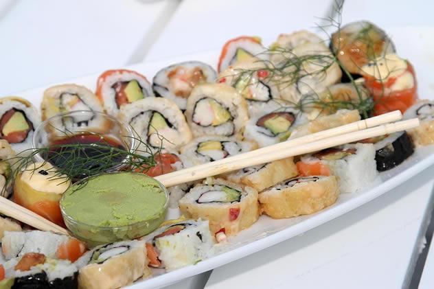 Sushi at the Skatkis Restaurant. Photo courtesy of the restaurant.