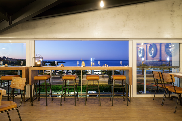 A view of the ocean at  Dalliance. Photo courtesy of the restaurant.