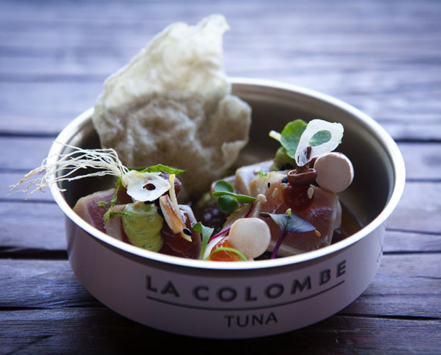 La Colombe tuna, as served on the day at the Eat Out Mercedes-Benz Restaurant Awards. Photo by Jan Ras.