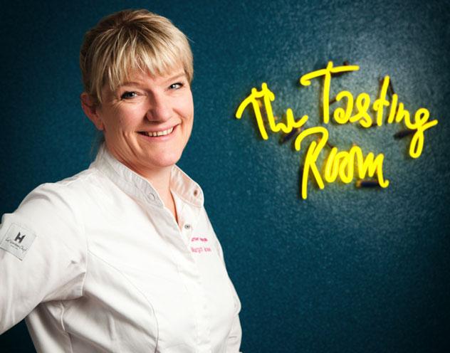 Chef Margot Janse. Photo by Jan Ras.